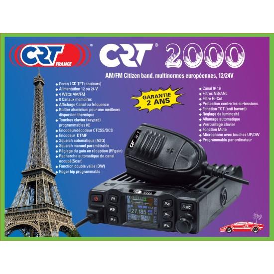 ΠΟΜΠΟΔΕΚΤΗΣ CB  CRT 2000 ΑΥΤΟΚΙΝΗΤΟΥ