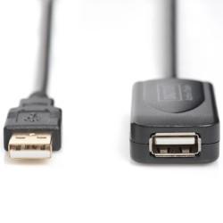 Καλώδιο USB Active επέκτασης DIGITUS DA-70130-4 USB 2.0