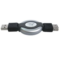 ΠΡΟΕΚΤΑΣΗ USB A / M ΑΡΣΕΝΙΚΟ ΣΕ USB A / F ΘΗΛΥΚΟ 0.9Μ