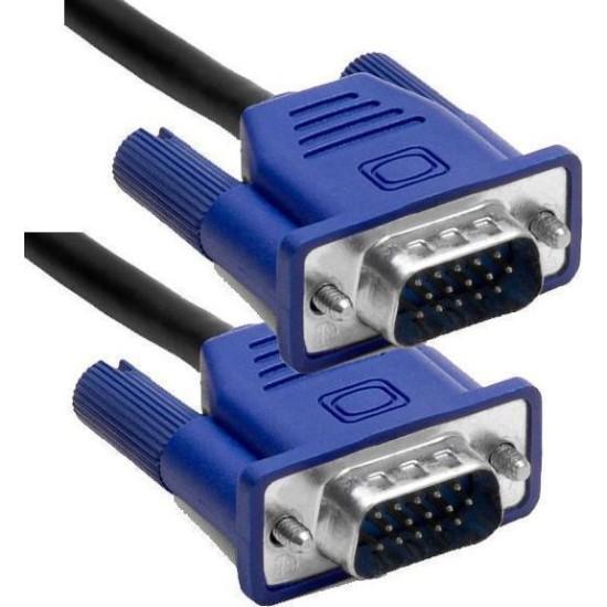 ΚΑΛΩΔΙΟ VGA HD 15PIN ACULINE  CABLE M-M  (2XFERRITES) 1,5M