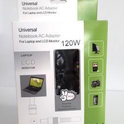 ΦΟΡΤΙΣΤΗΣ UNIVERSAL 120W ΓΙΑ LAPTOP, LCD ΟΘΟΝΗ, ΦΩΤ.ΜΗΧΑΝΗ