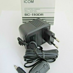 ICOM BC-110DR 220v Wall Charger for use with ICOM IC-A6 & IC-A24