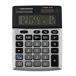 Επιτραπέζια Αριθμομηχανή με Οθόνη 12-Ψηφίων NEWTON ECL102 ESPERANZA