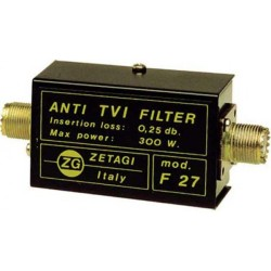 ANTI TVI  FILTER  F 27 ZETAGI  Low Pass filter