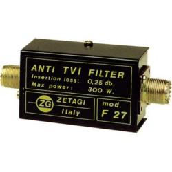 ANTI TVI  FILTER  F 27 ZETAGI  Low Pass filter