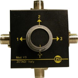 ZETAGI  V3 - 3 POSITIONS ANTENNA SWITCH