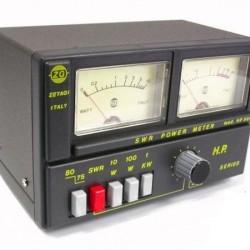 ΓΕΦΥΡΑ HP 500 (SWR METER / WATT METER ) ZETAGI 3-200MHz