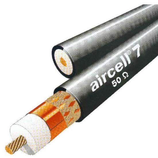 ΚΑΛΩΔΙΟ RF AIRCELL 7  50 ohm  LOW-LOSS COAXIAL CABLE