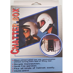 Chatter Box - Rider-to-pillion intercom kit