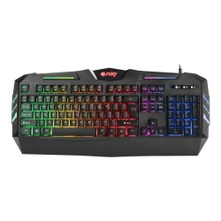 Gaming Natec Fury Spitfire NFU-0868 Backlight Μαύρο