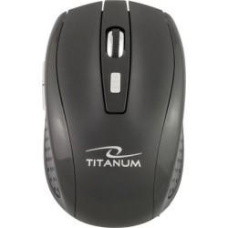Ασύρματο ποντίκι 2.4GHz 1600 dpi 6D Μαύρο TM105K TITANUM SNAPPER