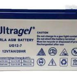 RECHARGEABLE BATTERY 7AH/12V - ULTRAGEL