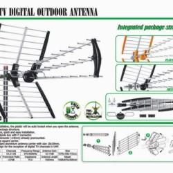 ΚΕΡΑΙΑ TV  ΕΞΩΤΕΡΙΚΗ UHF WC-233 DIGITAL