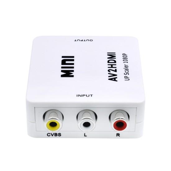 ΜΕΤΑΤΡΟΠΕΑΣ  3 x RCA ( AV ) ΣΕ HDMI