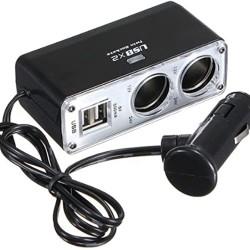 ΦΟΡΤΙΣΤΗΣ ΑΥΤΟΚΙΝΗΤΟΥ USB & ΑΝΑΠΤΗΡΑ DC12V/24V