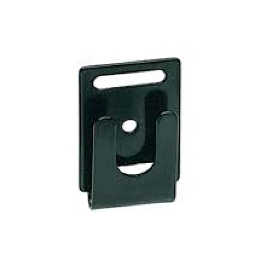 CB microphone clip holder BLACK