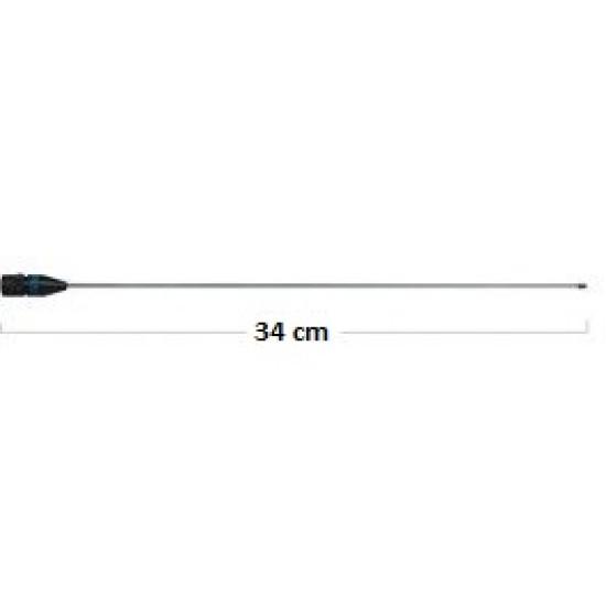 ΚΕΡΑΙΑ ΦΟΡΗΤΟΥ ΠΟΜΠΟΔΕΚΤΗ DIAMOND RH 536 (VHF-UHF) FLEX