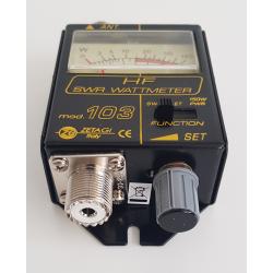 ΓΕΦΥΡΑ HP 103 (SWR METER / WATT METER ) ZETAGI 25-50MHz