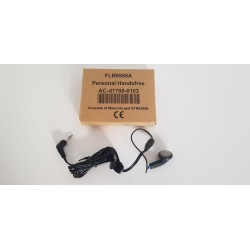 EARBUD WITH INLINE MICROPHONE FLN9568A MOTOROLA MTH500 HANDS FREE