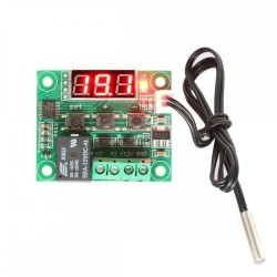 Ψηφιακό Θερμόμετρο με θερμοστάτη NTC -50 - +110°C 12v Dc